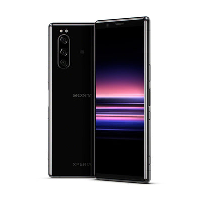 Sony Xperia 5 (128GB, Black, Special Import)-Smartphones (New)-Connected Devices