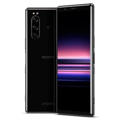 Sony Xperia 5 (128GB, Black, Dual Sim, Special Import)-Smartphones (New)-Connected Devices