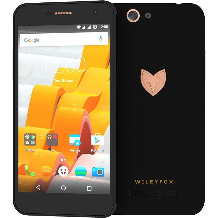 Wileyfox Spark X (Dual Sim, 16gb, Black, Local Stock)