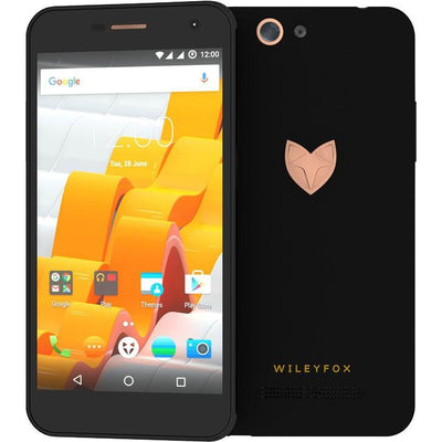 Wileyfox Spark X (16GB, Dual Sim, Black, Local Stock)-Smartphones (New)-Connected Devices