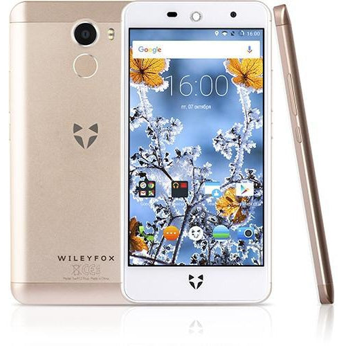 Wileyfox Swift 2 (Dual Sim, 16GB, Champagne Gold, Special Import )