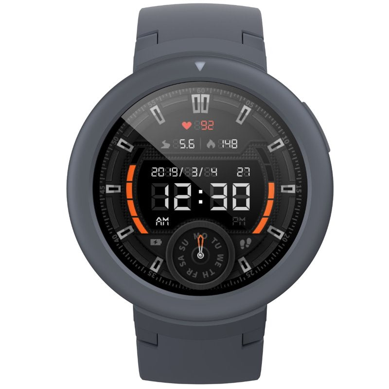 Xiaomi Amazfit Verge Lite Watch (Bluetooth, Grey, Special Import)