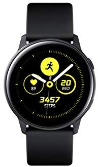 Samsung Galaxy Watch Active (Bluetooth, Black, Special Import)-Wearables (New)-Connected Devices