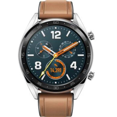 Huawei Watch GT (WiFi, Brown, Local Stock)