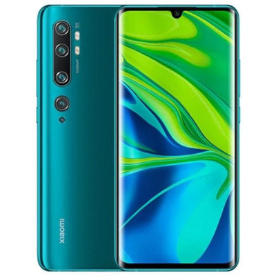 Xiaomi Mi Note 10 (128GB, Dual Sim, Green, Special Import)-Smartphones (New)-Connected Devices