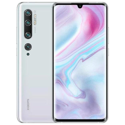 Xiaomi Mi Note 10 (128GB, Dual Sim, White, Special Import)-Smartphones (New)-Connected Devices