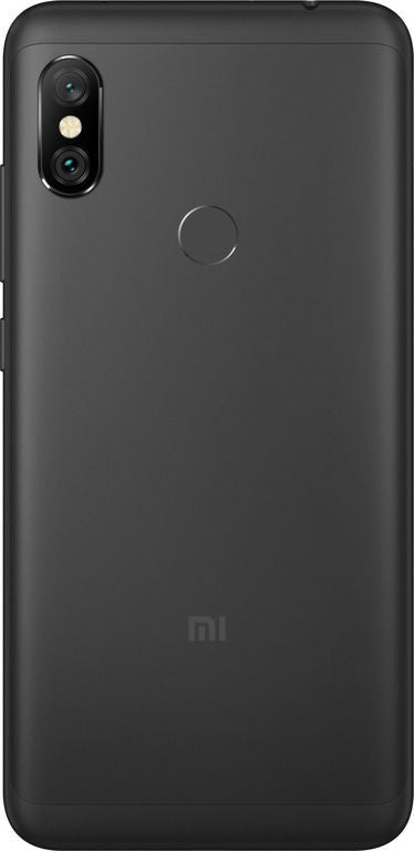 Xiaomi Redmi Note 6 Pro (64GB, Dual Sim, Black, Special Import)-Smartphones (New)-Connected Devices