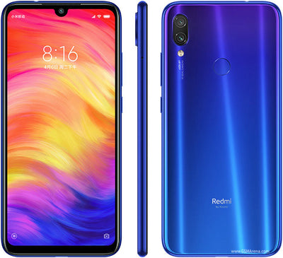 Xiaomi Redmi Note 7 (64GB, Dual Sim, Blue, Special Import)