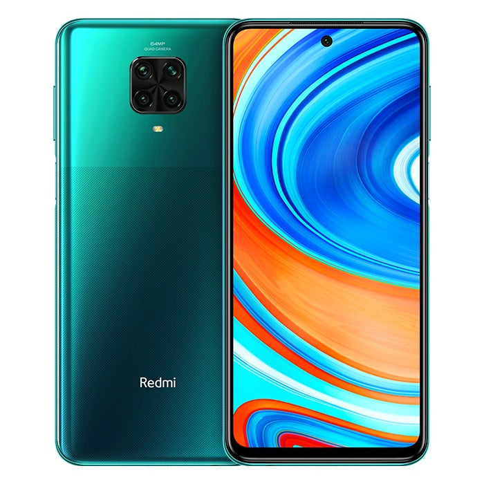 Xiaomi Redmi Note 9 Pro (128GB, 6GB RAM, Green, Dual Sim, Special Import)-Smartphones (New)-Connected Devices