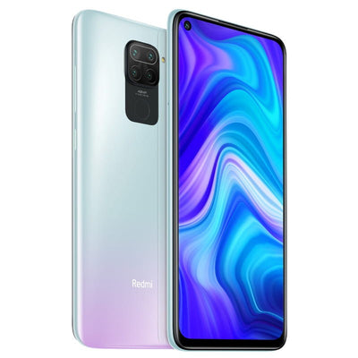 Xiaomi Redmi Note 9 (128GB, Dual Sim, White, Special Import)-Smartphones (New)-Connected Devices