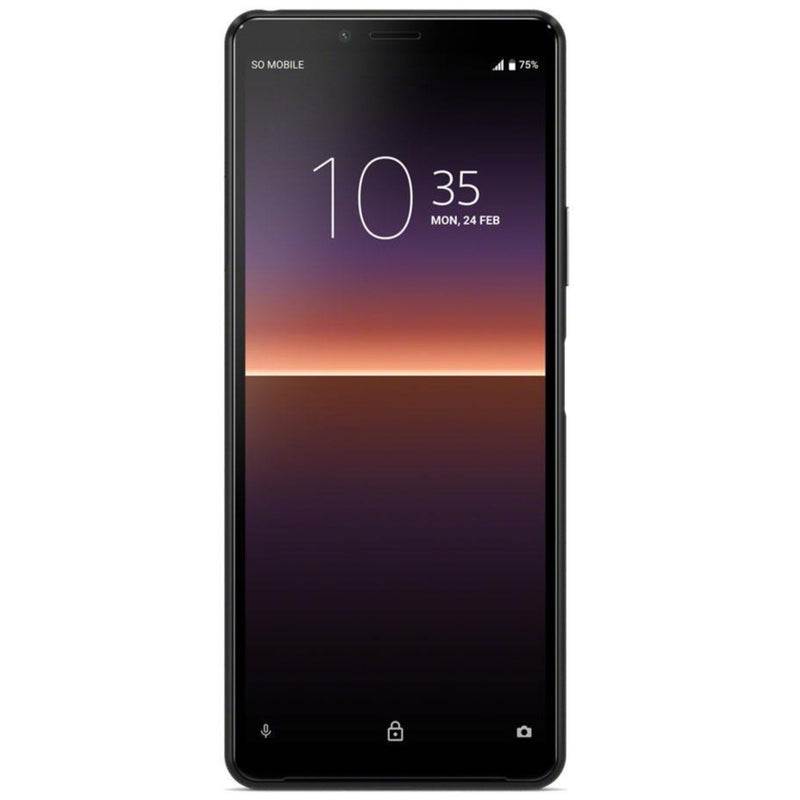 Sony Xperia 10 II (128GB, 4GB RAM, Dual Sim, Black, Special Import)-Smartphones (New)-Connected Devices