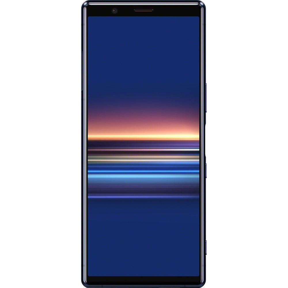 Sony Xperia 5 (128GB, Blue, Dual Sim, Special Import)-Smartphones (New)-Connected Devices