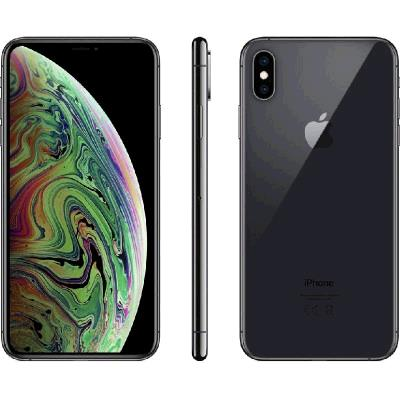 Apple iPhone Xs Max (256GB, Dual Sim, Space Grey, Special Import)-Smartphones (New)-Connected Devices