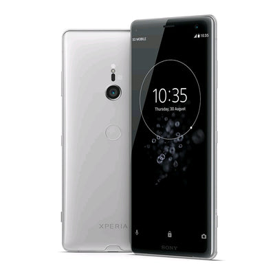 Sony Xperia XZ3 (64GB, Dual Sim, Silver, Special Import)-Smartphones (New)-Connected Devices