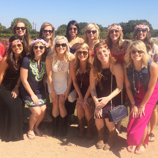 Austin Hill Country Bachelorette: Low-Key Winery & Lake Weekend