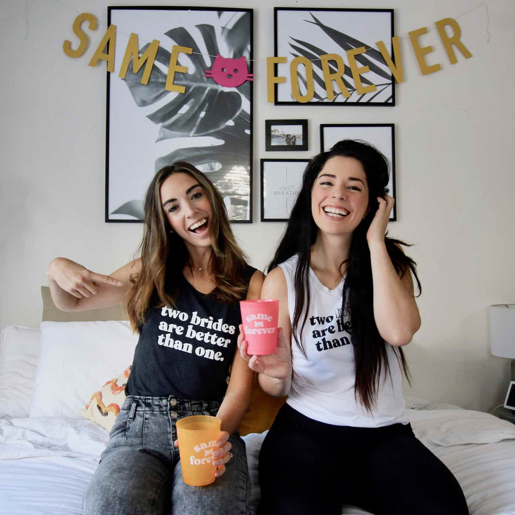 How An Instagram Collaboration Inspired Our New Lesbian Bachelorette Party Collection | Stag & Hen