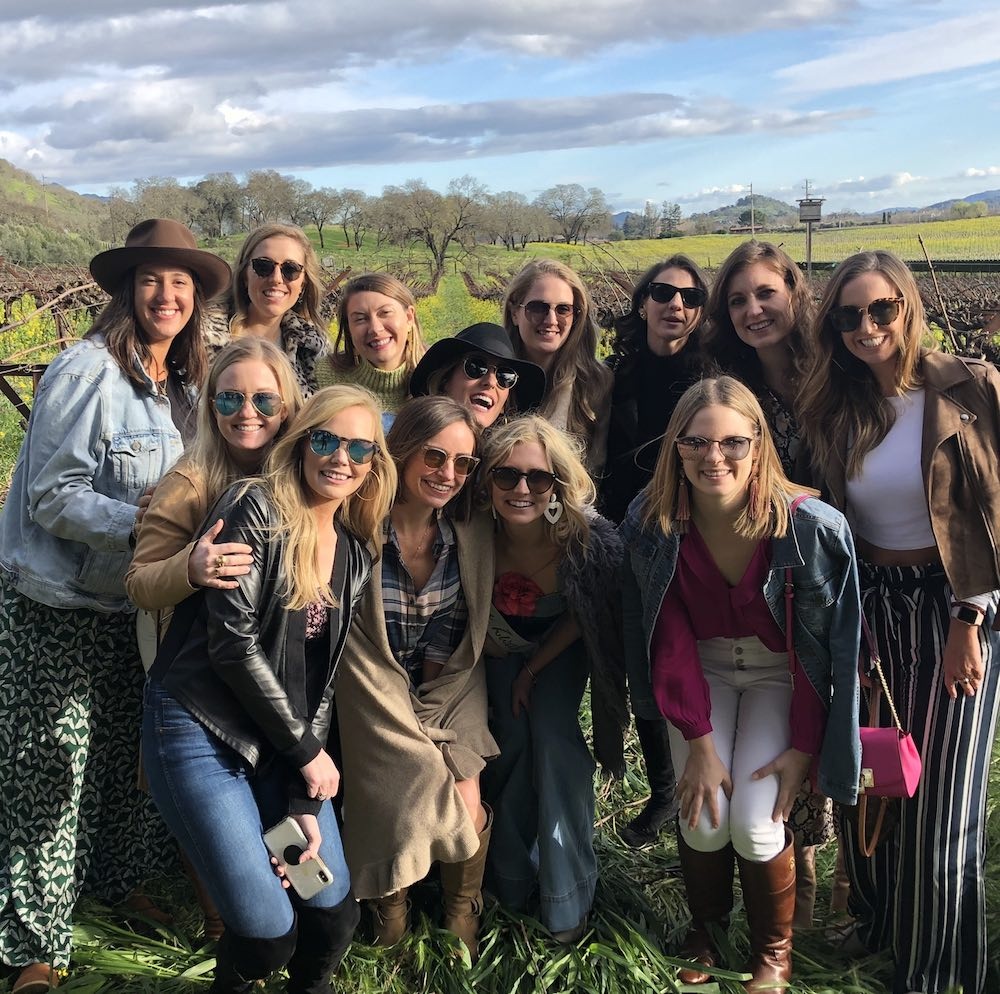 Sonoma Bachelorette Party Ideas