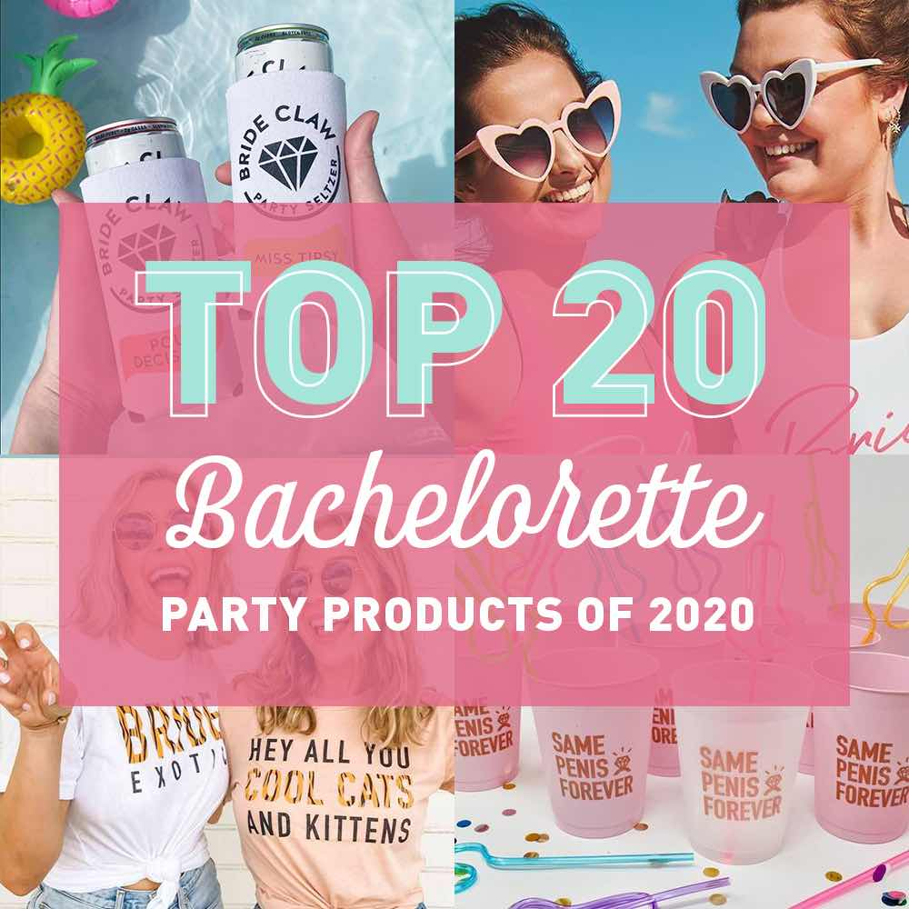 The Top 20 Best-Selling Bachelorette Party Products of 2020 | Stag & Hen