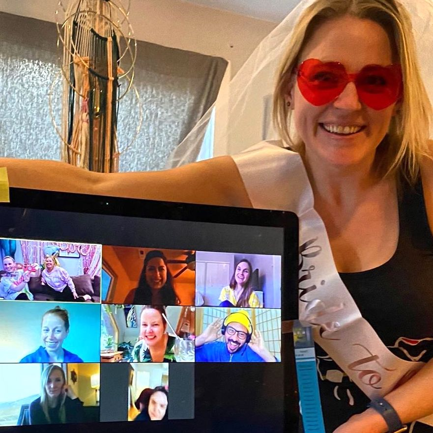 17 Virtual Bachelorette Party Ideas for the COVID-19 Bride