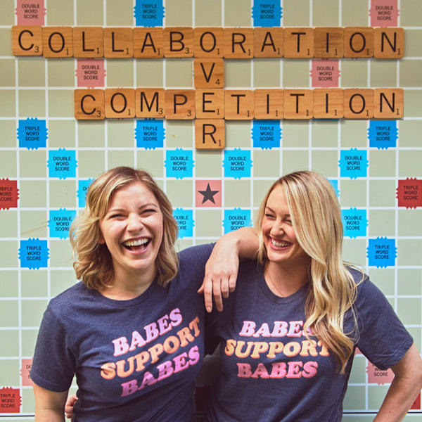 Collaboration Over Competition | Stag & Hen