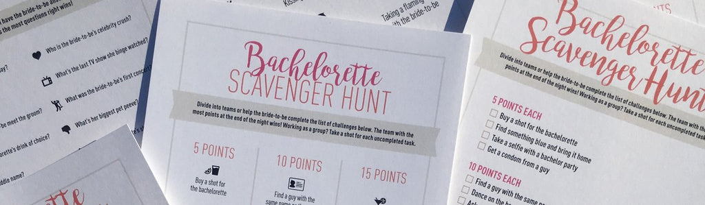 Free Bachelorette Party Games