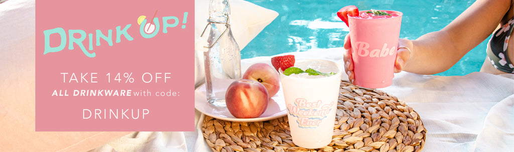 Bachelorette Party Cups, Koozies, Plates and Napkins