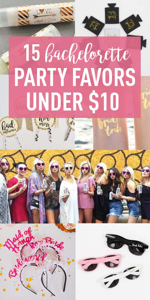 Bachelorette Party Favors Under $10