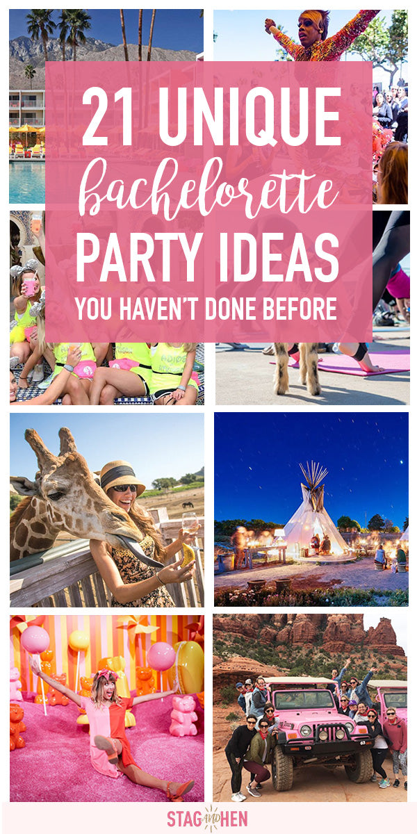 21 Unique Bachelorette Party Ideas You'll Actually Want To Do | www.shopstagandhen.com