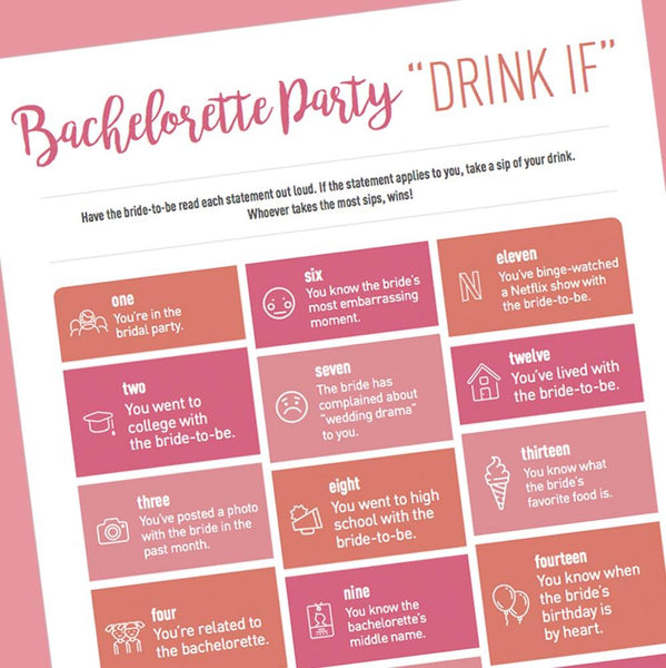 Spin The Bride To Be Truth Or Dare Hen Party Game