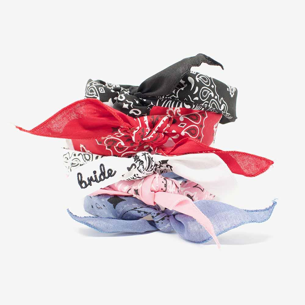 Best Bachelorette Party Gifts of 2020 | I Do Crew Bandanas