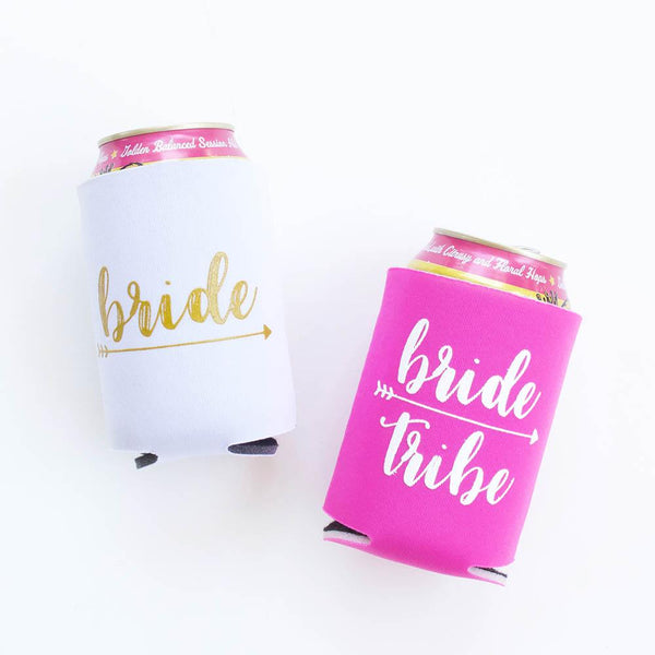 Bachelorette Party Favors - Bride Tribe Koozies