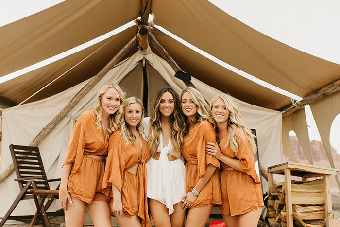 COVID-19 Bachelorette Party Ideas - Camp Out