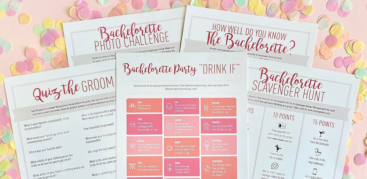 COVID-19 Bachelorette Party Ideas - Games