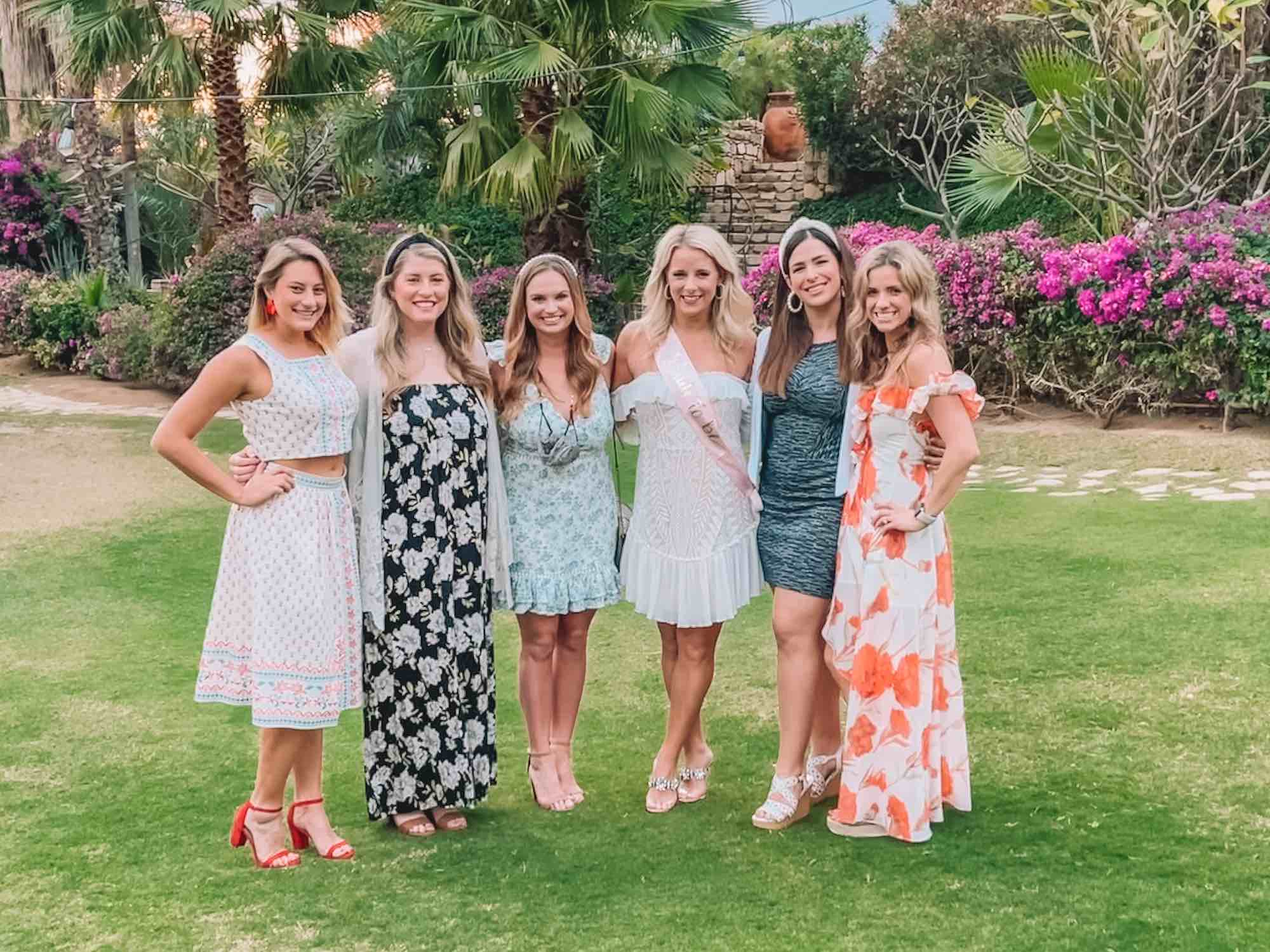 Courtney's Cabo San Lucas Bachelorette Party Itinerary