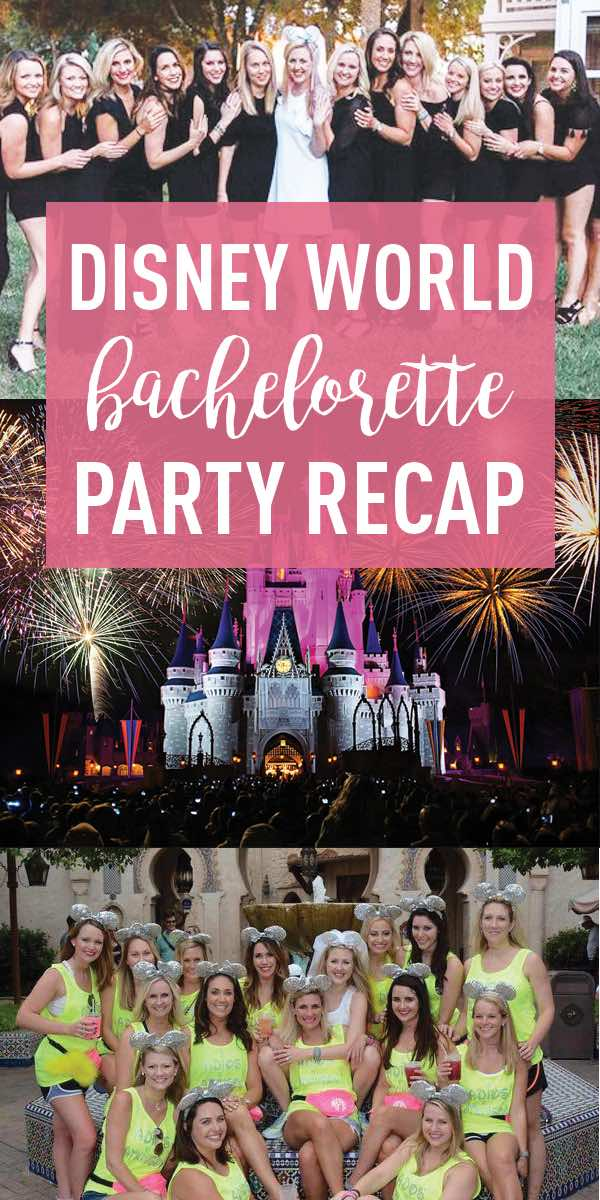Disney Bachelorette Party Guide Drinking Around The World Stag Hen