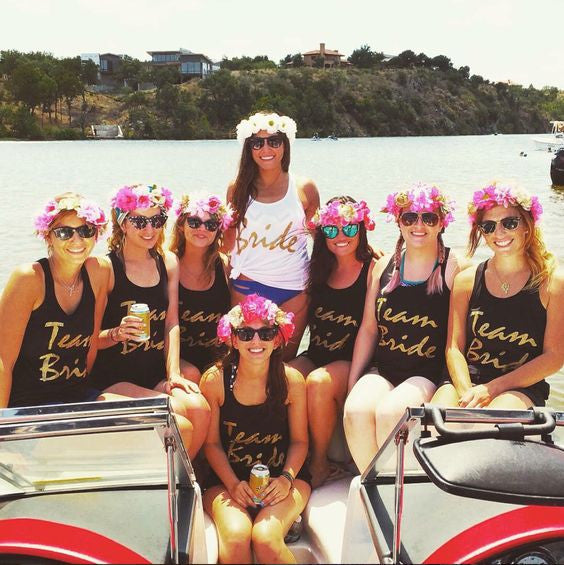 18 Totally Adorable Bachelorette Party Outfits – Stag   Hen c85ca544cf4