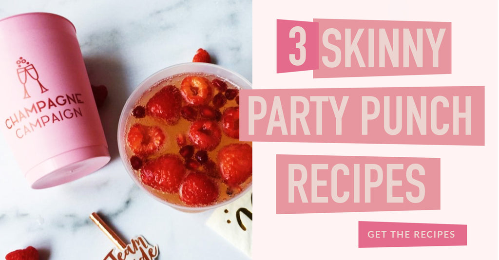 3 Skinny Bachelorette Party Punch Recipes