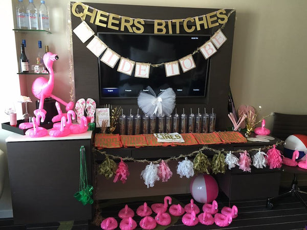 Hotel Room Party Decorations