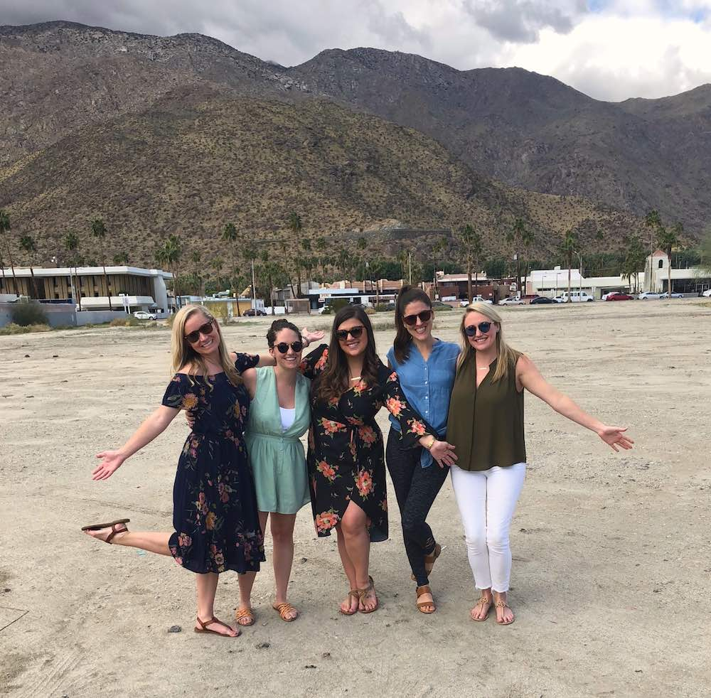 Palm Springs Bachelorette Party Itinerary Palm Springs Bachelorette Party Ideas