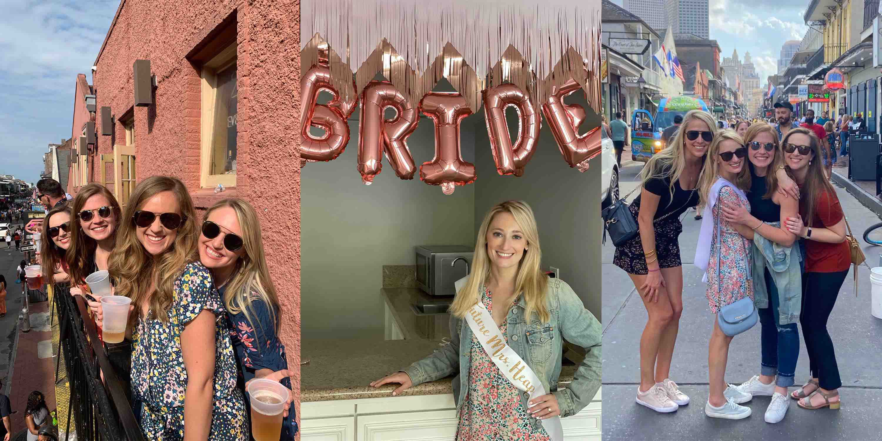 Kayla's New Orleans Bachelorette Party Itinerary Recap