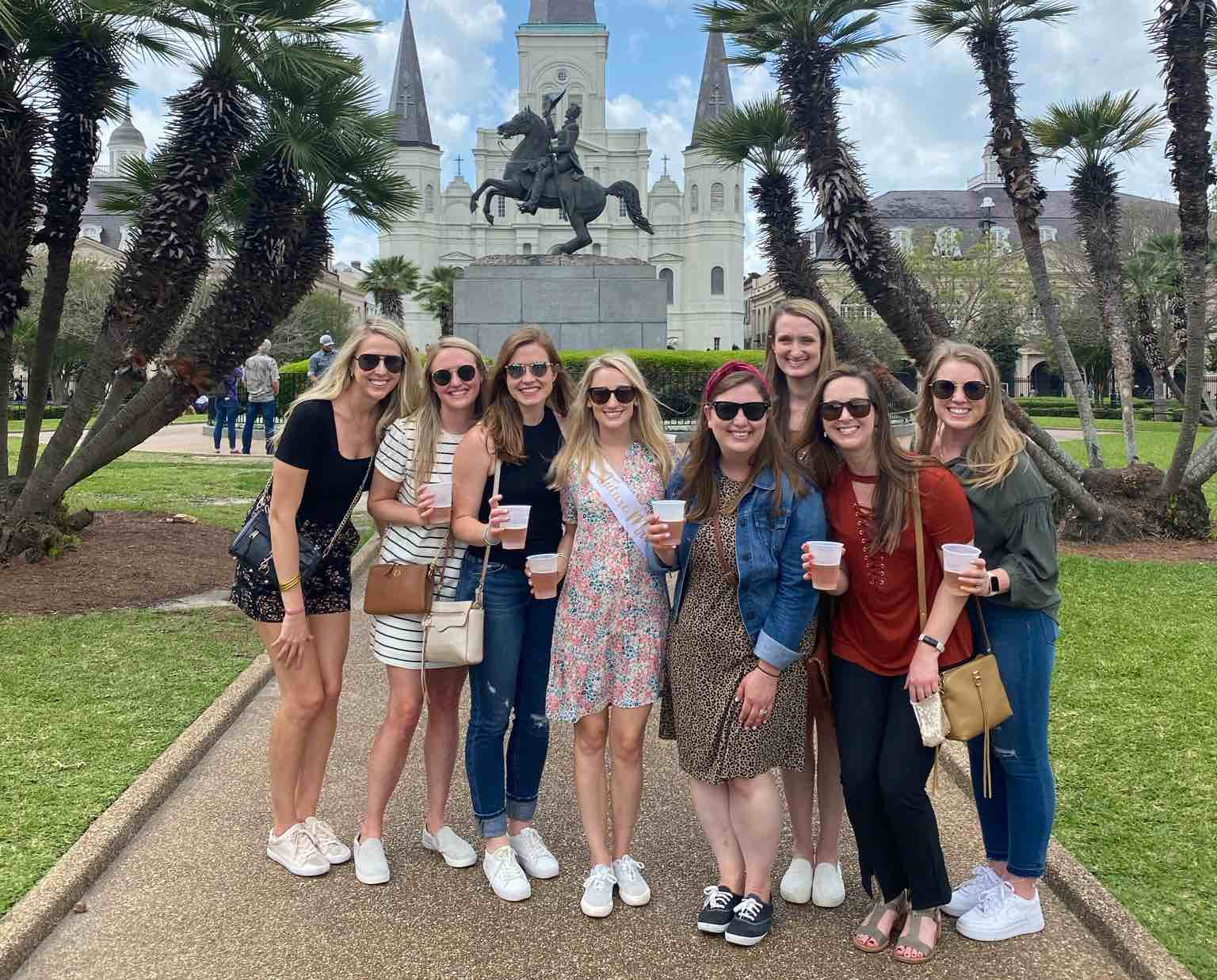Kayla's New Orleans Bachelorette Party Weekend Itinerary, Ideas, Recap