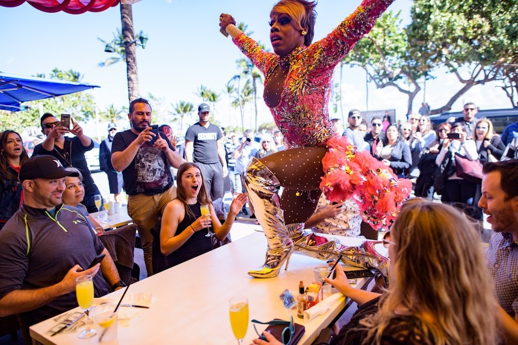 Unique Bachelorette Party Ideas - Drag Show Brunch Miami