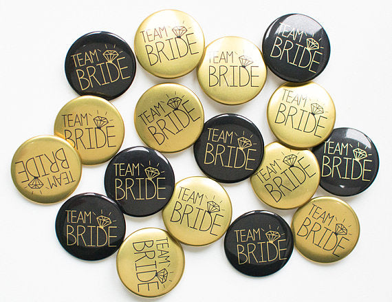 Bachelorette Party Accessories | Team Bride Pins