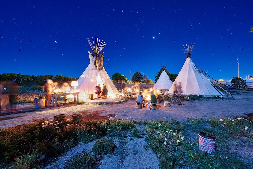 Unique Bachelorette Party Ideas - Glamping
