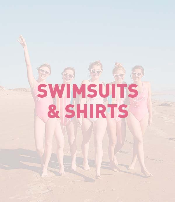 Bachelorette Party Shirts, Tank Tops, Tees and Swimsuits