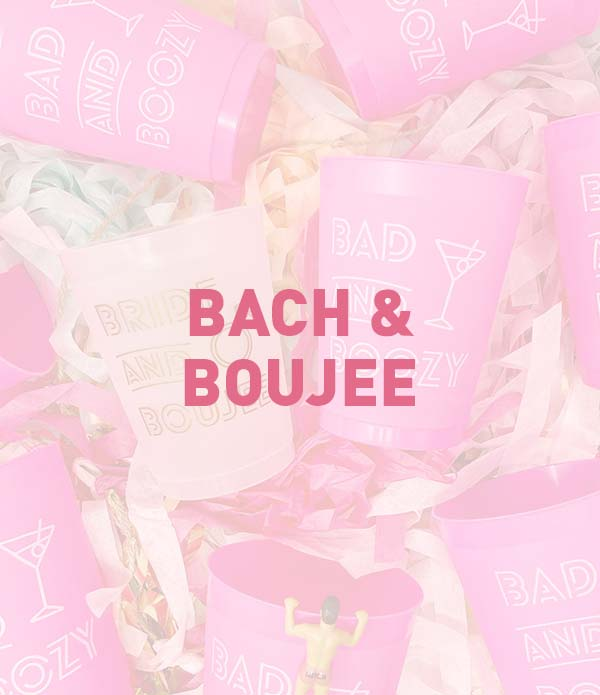 Bach & Boujee Bachelorette Party Theme, Favors, Accessories, Supplies, Gifts