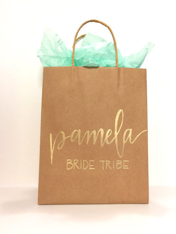 Bachelorette Party Favors - Custom Gift Bags