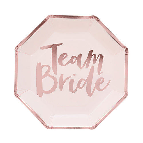 Team Bride Dinner Plates - Stag & Hen