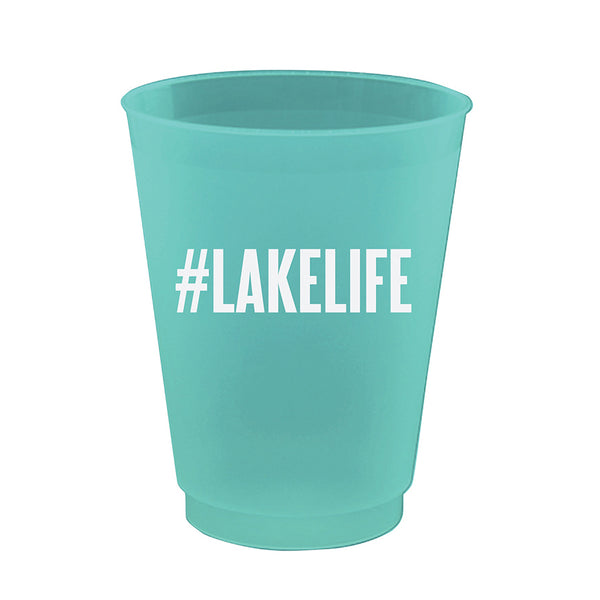 Lake Life Party Cups (8 count) - Stag & Hen