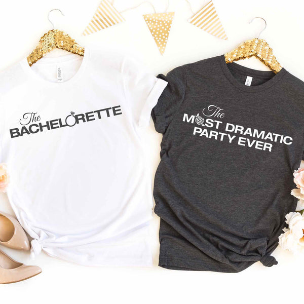 ABC's The Bachelor TV Show Bachelorette Party Shirts